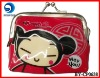promotional vinyl coin purse with animal printing