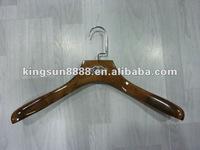 Fashion upmarket wooden hanger