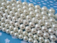 White Color Plastic Pearl Bead in alibaba china