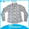 kids long sleeve shirts with collar for boys