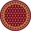 Circle Design and Hot Sell Hand-made Carpet