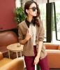ej2425 Elegant Style V Neck 2012 Winter Cardigan For Ladies