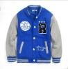 Children Cotton Letterman Varsity Jacket