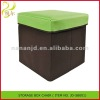 2012 fashion foldable home storage box chair