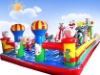 Inflatable playground set, children's amusement castle
