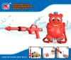 Best Sell Plastic Water Gun (Red) W/Backpack MJ1028A-3