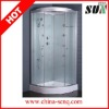 2012 simple design 90x90 NANO glass shower cabin