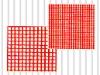 fiberglass netting piece with high-voltage transformer insulation