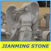 Grey Angel Granite Statue