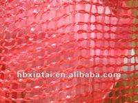 Red new material tubular leno bags