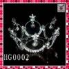 2011 new fashion wedding tiara,designer wedding crown,hot selling hair accessory,latest wedding jewelry