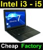 "Hot 14"" intel i3 dual-core laptop with windows 7 OS"