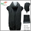 wholesale hot selling flower knitted shawls and scarves