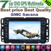 GMC Savana DVD GPS player 7'' HD touchscreen,bluetooth,TV,radio,ipod,steering wheel conrol.Factory!!
