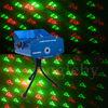 Mini laser disco light with xmas design