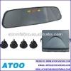 car reverse parking sensors with rearview mirror /led display/parking sensor/ buzzer alarm 4/6/8 sensors
