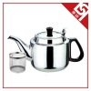 Stainless Steel Tea Pot with A Tea Strainer