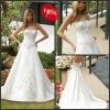 Hot Sale Embroidered Beaded White designer wedding dresses