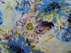 Cotton poplin spandex with print
