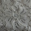 In-Stock White Lace Non Woven Fabric For Clothing