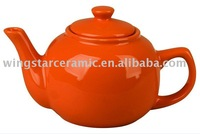 colorfull ceramic tea pot