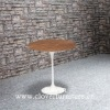 Eero Saarinen Tulip Side Table Wooden Top