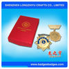 Zinc Alloy Medal With Box For Lion Club