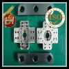 customized stainless steel construction equipment parts