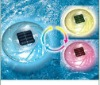 underwater floating pool light with at least three models