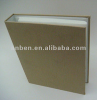 40 PP sheets O ring photo albums with fabric cover