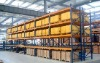 Warehouse rack storage shelves