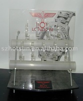acrylic watch rack