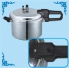 Dual-grip handles for an easy handling Pressure Cooker