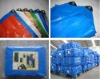 Waterproof PE tarpaulin plastic products
