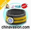 Headband with MP3 Player - 4GB, Modern Design, LED Light, Headband for Outdoor