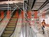 LEADER GN50 mobile aluminum suspended working platform facade scaffolding system