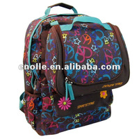 Children Shoulder Schoolbag Backpack With Lunch Bag