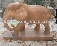 Garden stone carving