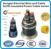 2012 HOUDI branded aluminium or copper XLPE insulated power cable for electricity application with pvc and xlpe material