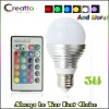 LED Color Changing Light Bulb - Wireless Remote Control
