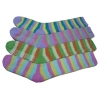 95%polyester 5%spandex soft yarn knitted floor sock
