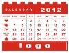 table calendar blocks