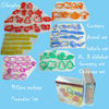 Christmas PROMOTION plastic cookie cutter 100pcs set