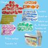 Christmas PROMOTION plastic cookie cutter 100pcs set