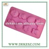 FDA silicone rose cake mold industrial, SGS,FDA