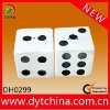 Factory direct wholesale ceramic dice salt and pepper shaker set