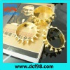 Mens big gold plated bangles with 3 styles from China