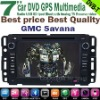 7'' 2 DIN DVD GPS Navigation for GMC Savana bluetooth,DVB-T TV,radio,ipod,steering wheel conrol,HD TOUCH SCREEN!!
