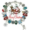 Wholesale Christmas Santa charm bracelets jewelry