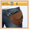 PU waist bag for men